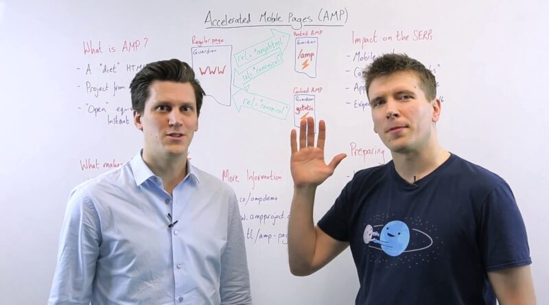 Accelerated Mobile Pages – Whiteboard Friday