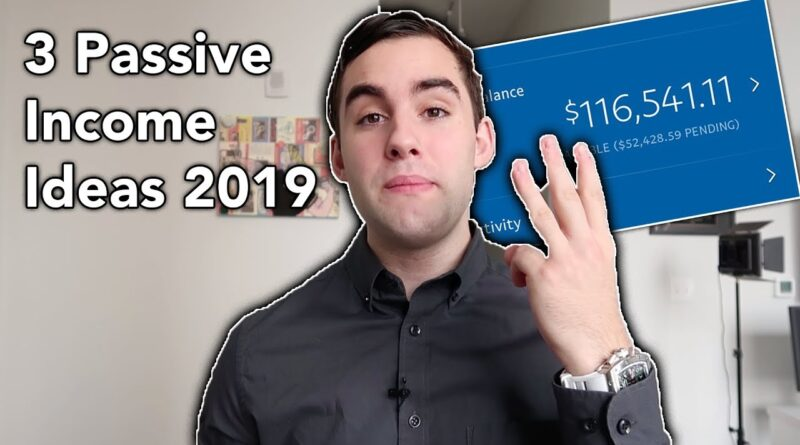 Passive Income: Top 3 Ways To Make $500 Per Day In 2019 (Beginner Friendly)