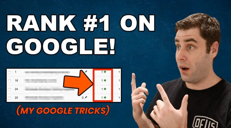 SEO: How To Rank Your Website On Google For FREE Traffic! (My Tricks)