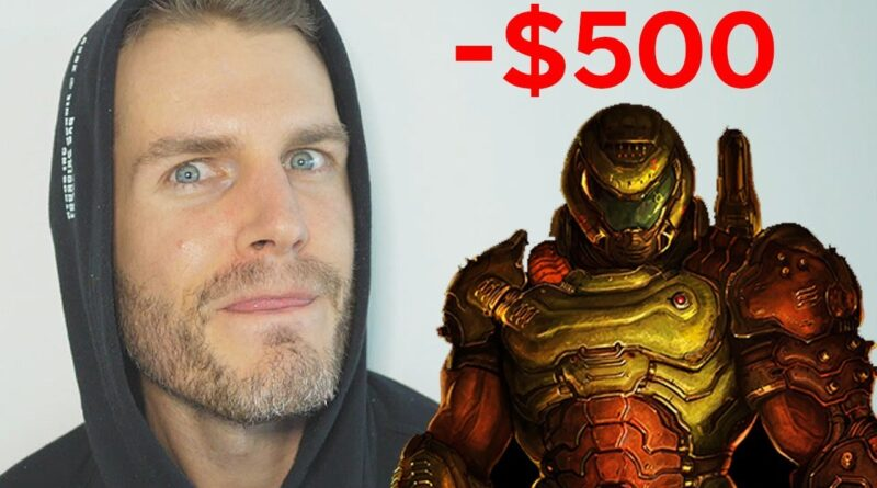 I Pay A Viewer $500 Every Time I Die (Doom Eternal Nightmare)