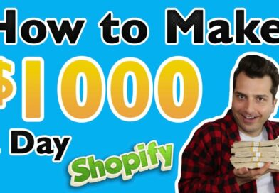 How to Make $1000 a Day Online w/ Shopify Stores (While Dead Broke)