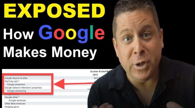 EXPOSED: How Google Makes Money